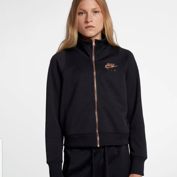 Nike Air N98 Loose Fit Rose Gold Track Jacket NWT